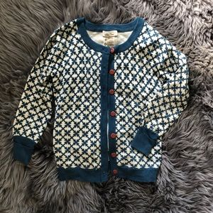 Matilda Jane blue latticework sweater cardigan